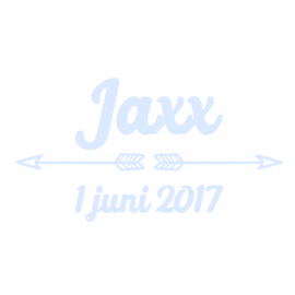 Geboortesticker Jaxx