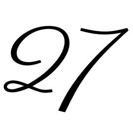Huisnummer rond