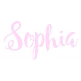 Naamsticker Sophia