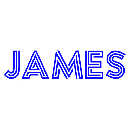 Naamsticker James