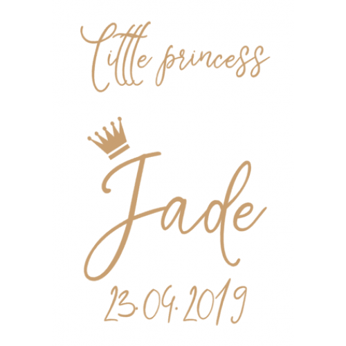 Sticker voor fotolijst Jade