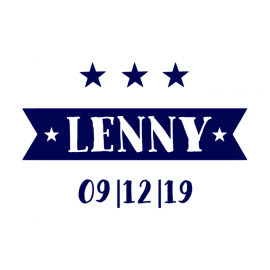 Geboortesticker Lenny