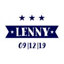 Geboortesticker Lenny