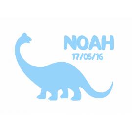 Naamsticker Dino