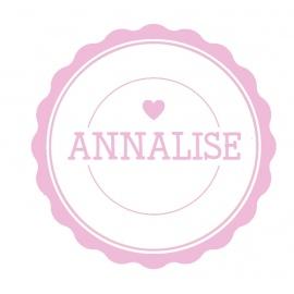 Naamsticker Annalise